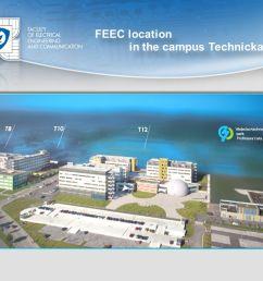 4 feec location in the campus technicka feec location in the campus technicka [ 1058 x 793 Pixel ]