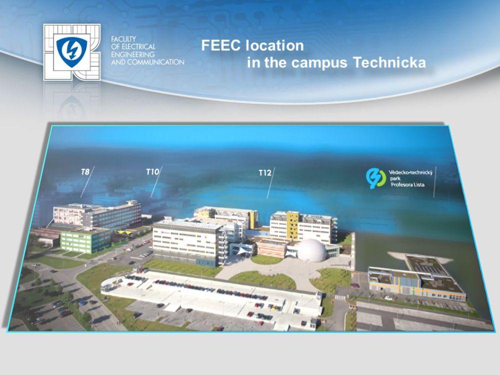 medium resolution of 4 feec location in the campus technicka feec location in the campus technicka