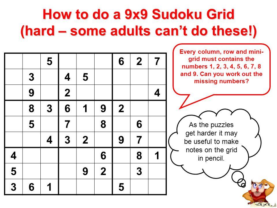 Sudoku Puzzles How To Do A 4x4 Sudoku Grid (easiest) Every