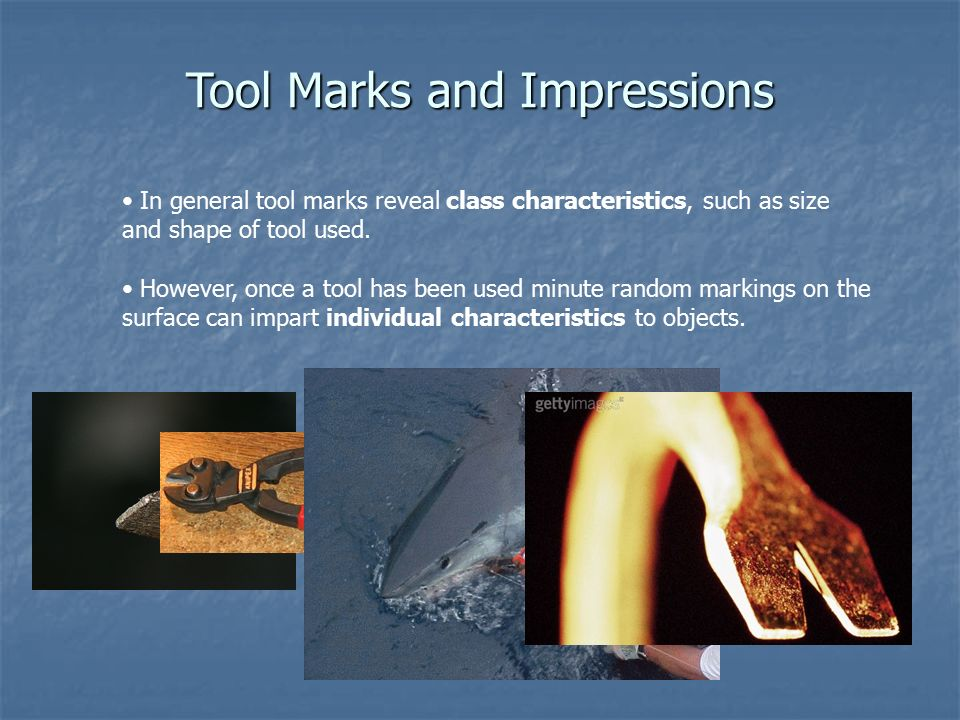 Image result for tool marks