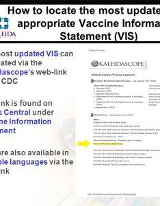 also vaccine information statement vis and updated consent rh slideplayer