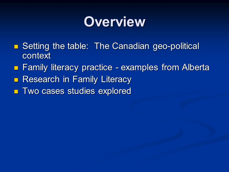 Family Literacy Practice And Research In Canada Yvon Laberge Éduk