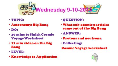 small resolution of Warm-ups 1 st Quarter Astronomy Wednesday TOPIC: Classroom Guidelines for 9  th grade science DO: Find your seat Read over the Guidelines. - ppt download