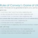 Variations Of Conway S Game Of Life Eswar Kondapavuluri Ppt Download