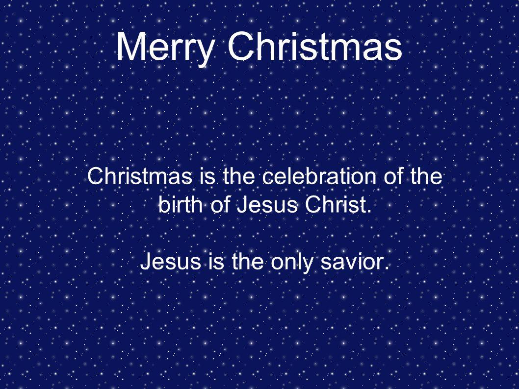 merry christmas christmas is