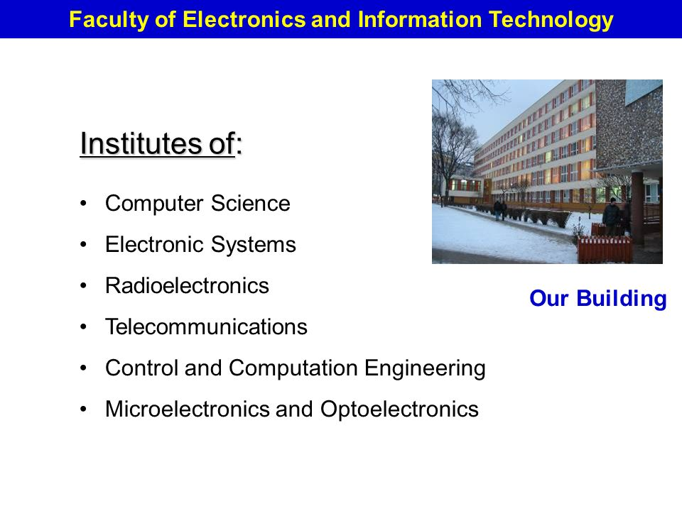 faculty of electronics and