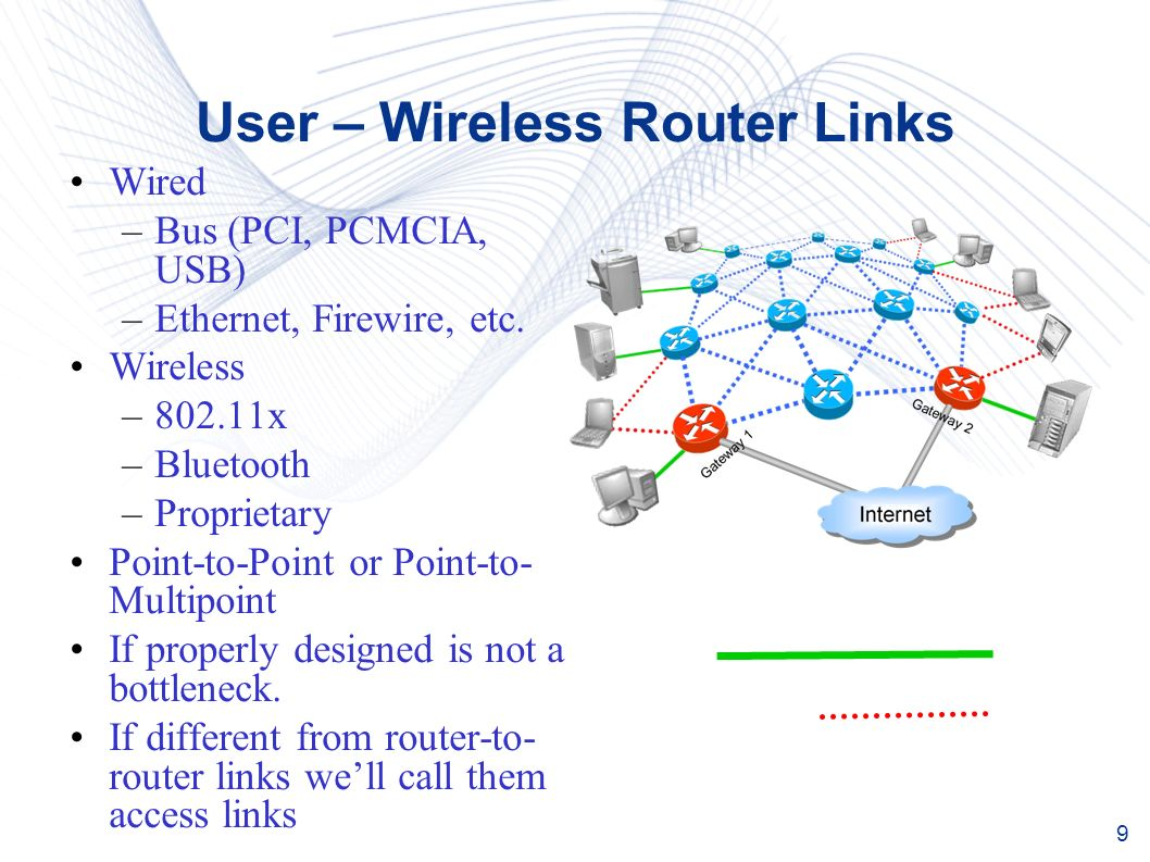 hight resolution of 9 user wireless router links wired bus pci pcmcia usb