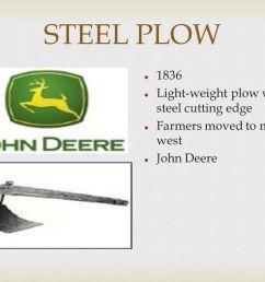 14 steel plow 1836 light weight plow w steel cutting edge farmers moved to mid west john deere [ 1058 x 793 Pixel ]