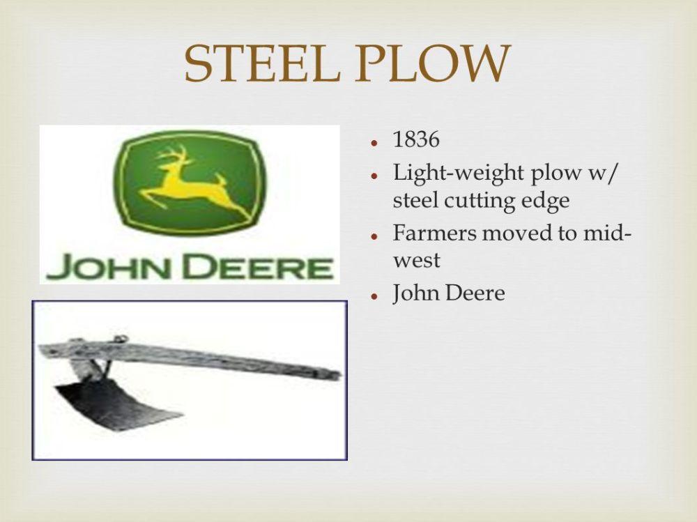 medium resolution of 14 steel plow 1836 light weight plow w steel cutting edge farmers moved to mid west john deere