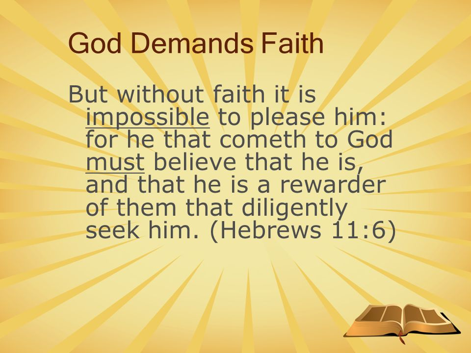 Image result for without faith it is impossible