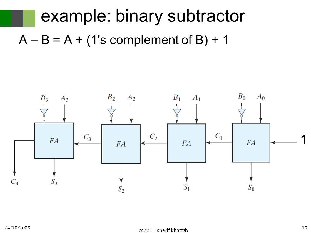 hight resolution of logic design cs221 1 st term combinational circuits cairo university 17