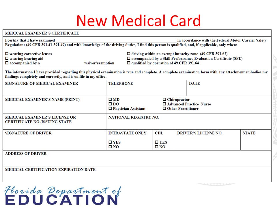 How Much Does It Cost To Get A Cdl Medical Card Cardjdi