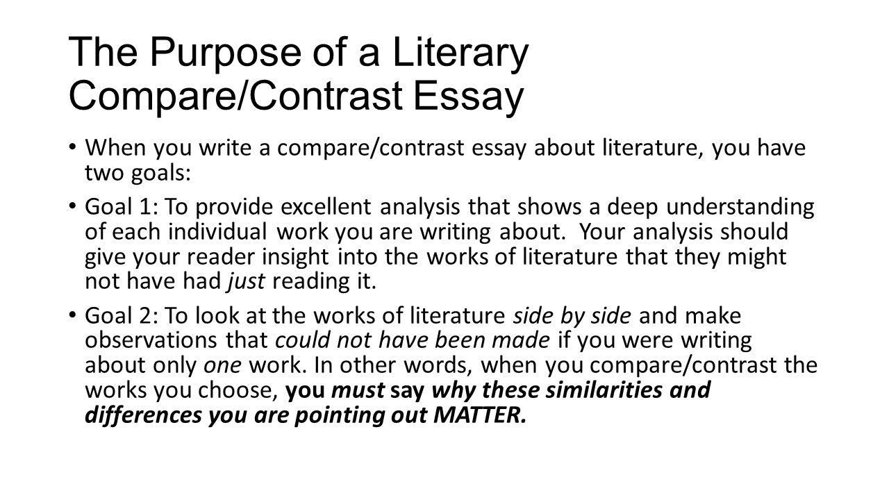 The spot essay