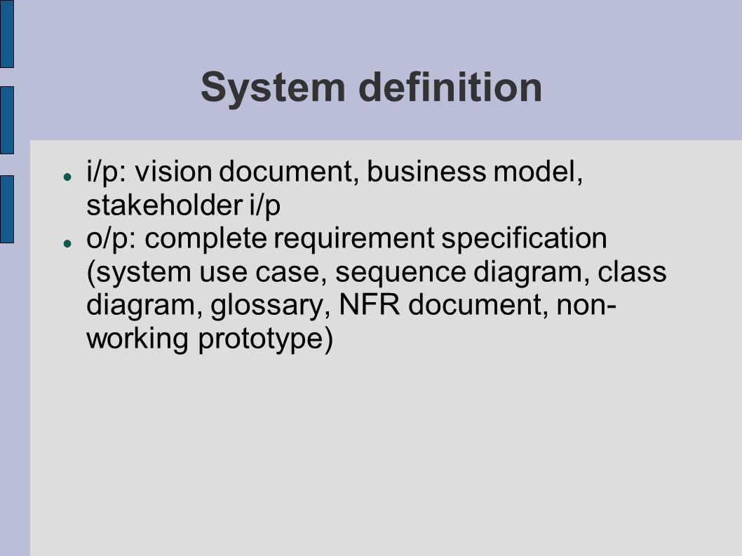 hight resolution of 19 system definition i p vision document business model stakeholder i p o p complete requirement specification system use case sequence diagram