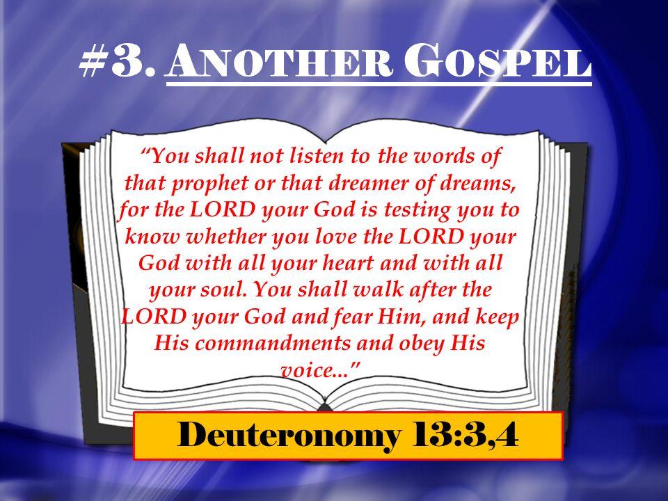 Image result for Image of Deuteronomy 13:3, 4 False Prophet