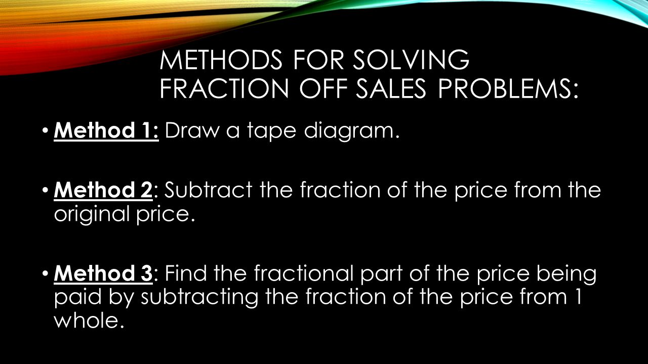 hight resolution of multi step ratio problems 2 methods