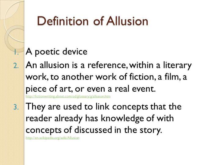 Allusion Poem Poemview