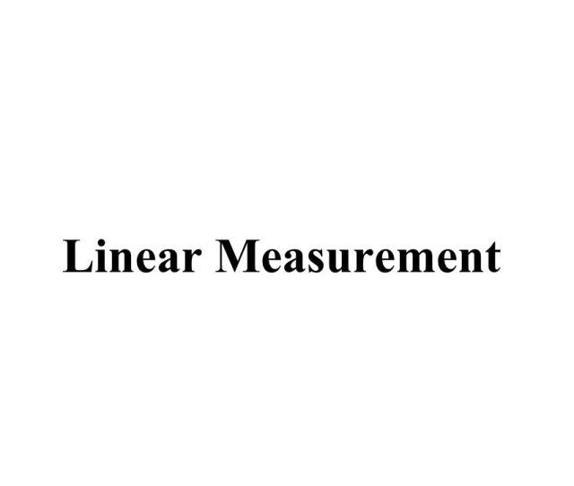 1 Linear Measurement