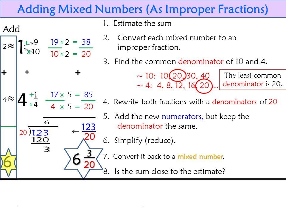 35 adding fractions add
