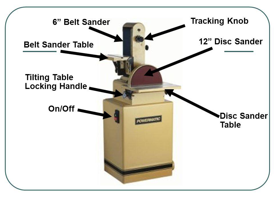 Stationary Disc Sander