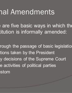 informal amendments also the amendment process  bill of rights ppt download rh slideplayer