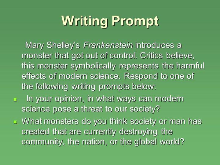 Essay prompts frankenstein poemsview co
