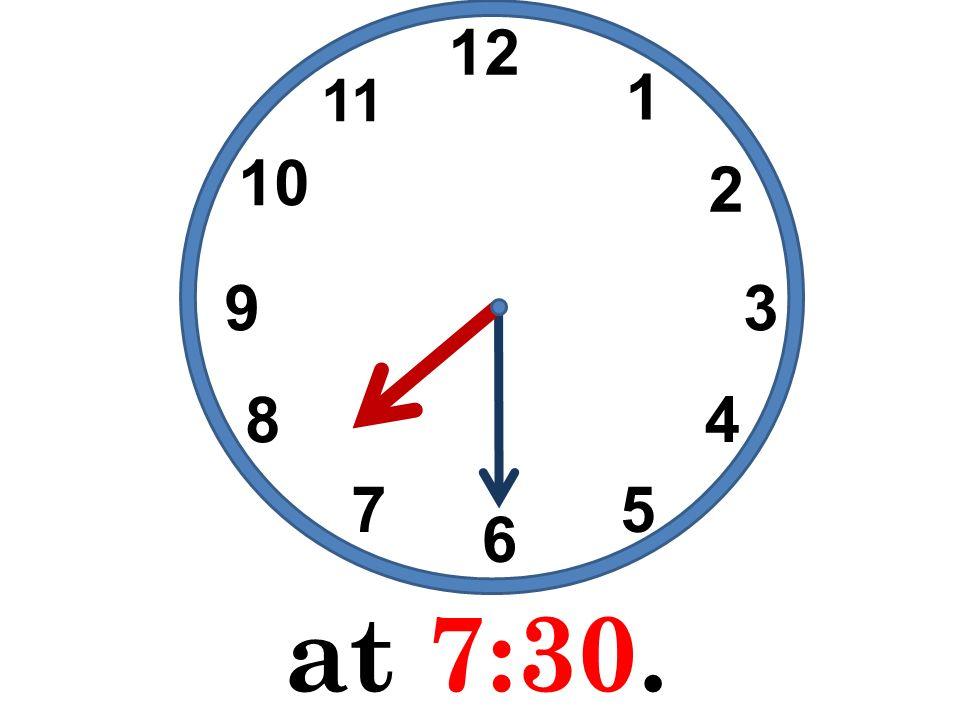 at o clock at