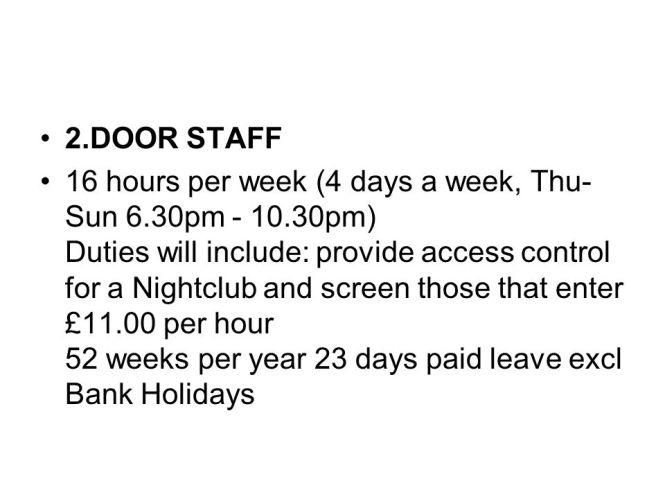 auditor job description job offer for night auditor at