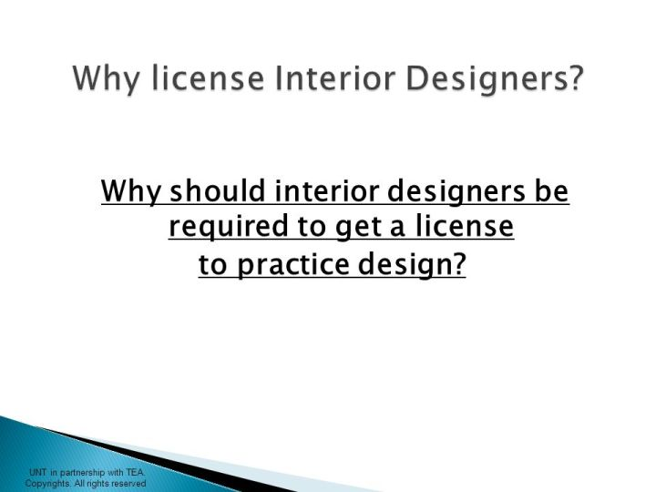 How To Become A Licensed Interior Designer In Texas