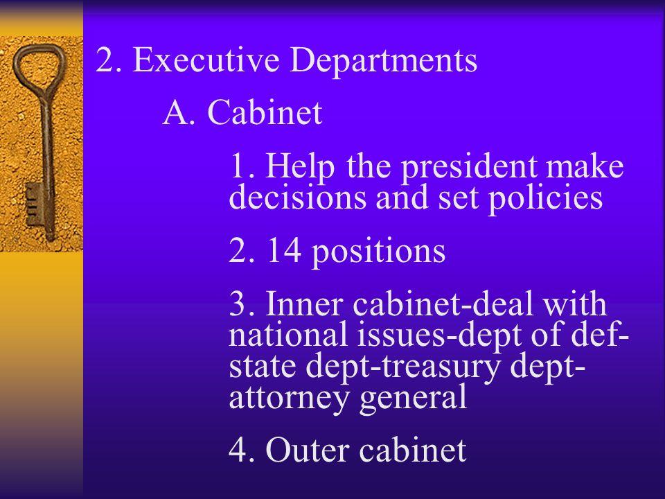 Inner Cabinet Definition Ap Gov Thesecretconsul Com