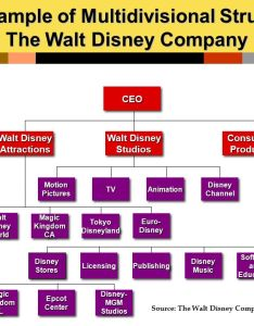 an example of multiisional structure the walt disney company also organization and communication class tuesday ppt download rh slideplayer