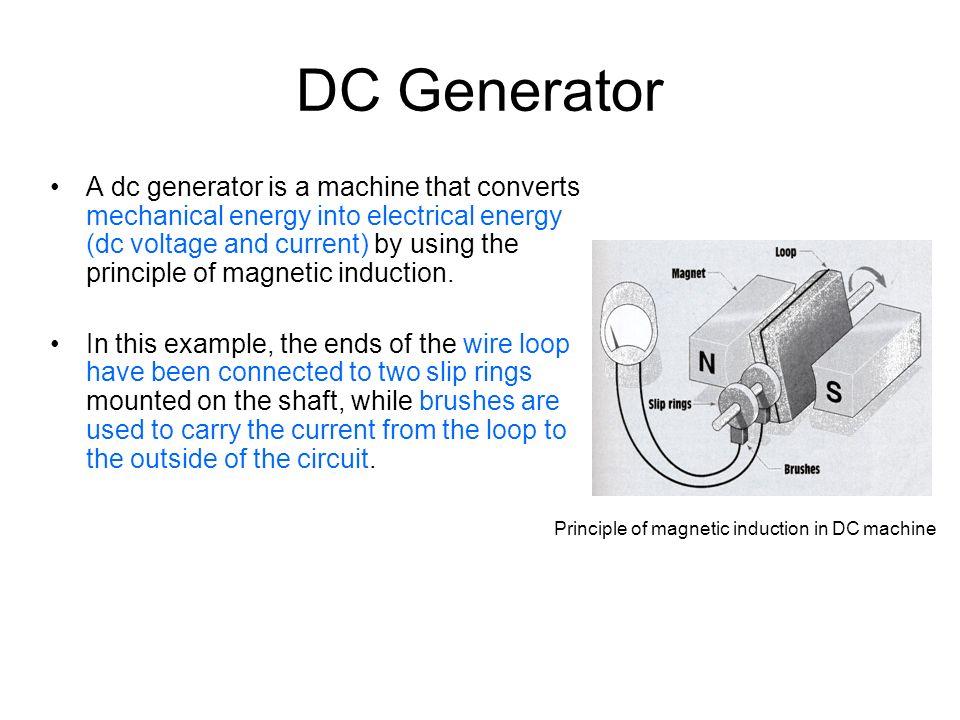 Wiring Diagram Of Dc Generator