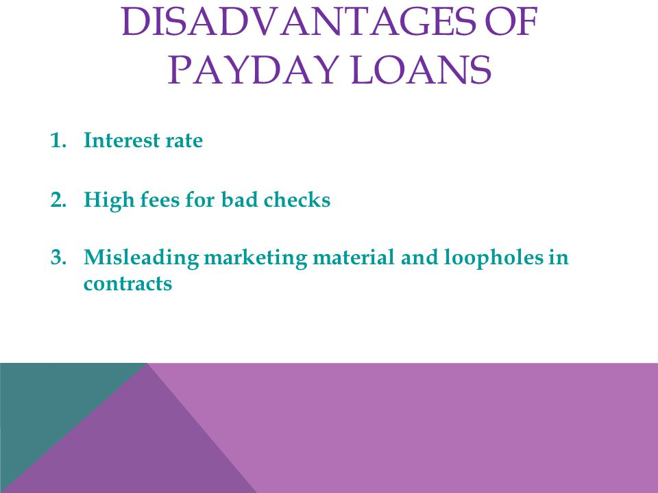payday lending options having unemployment