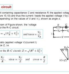 r c series a c circuit in an a c  [ 1280 x 720 Pixel ]