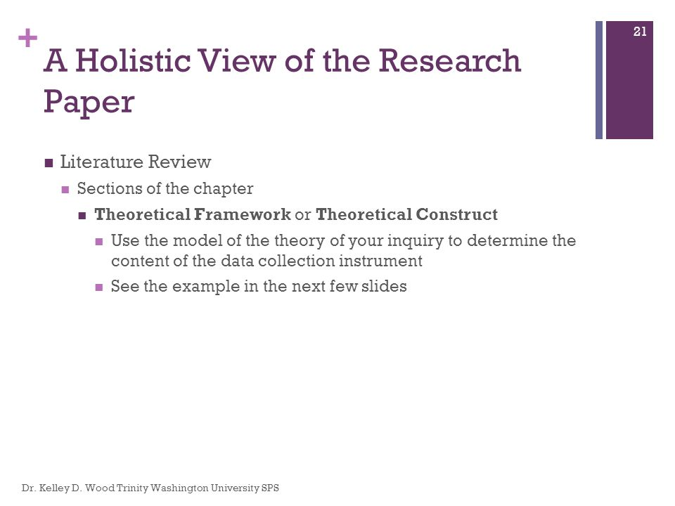 Research Rescue Lab A Holistic View Of The Research Paper Dr
