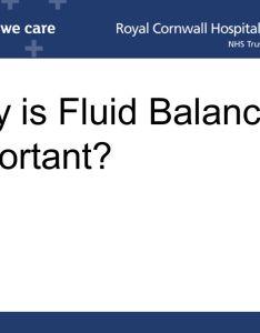why is fluid balance important also charts amanda thompson learning  development lead rh slideplayer