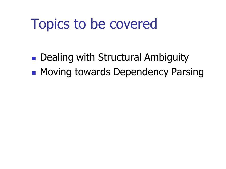 CS : Speech, NLP and the Web/Topics in AI Pushpak Bhattacharyya CSE ...
