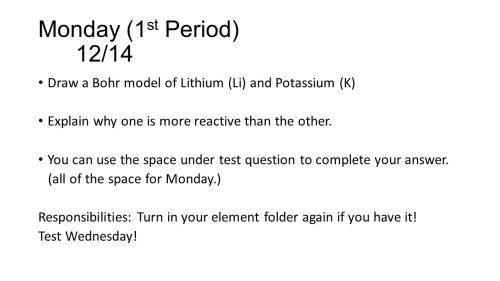 small resolution of monday 1 st period 12 14 draw a bohr model of lithium