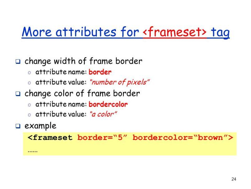 Fine Html Frames Ppt Photo - Frames Ideas - ellisras.info