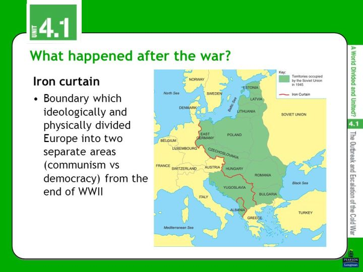 What Did The Iron Curtain Divide Www Stkittsvilla Com