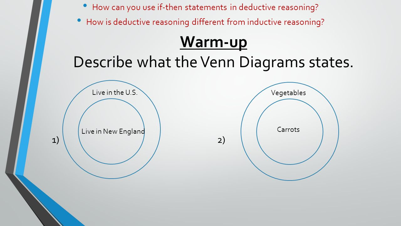 hight resolution of warm up describe what the venn diagrams states 1 2 live in