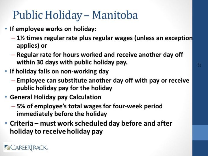 cra holiday pay calculator