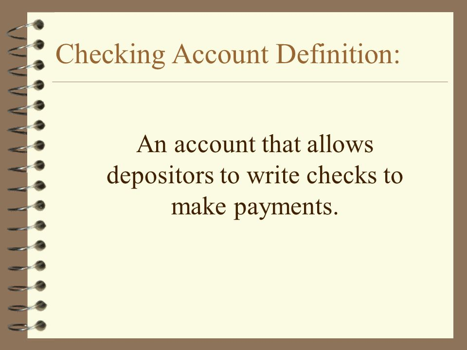 Checking Account Unit Mrs Lewis Kentucky Core Content Financial Management Practices E G Maintaining Bank Accounts Budgeting Saving Using Credit Ppt Download