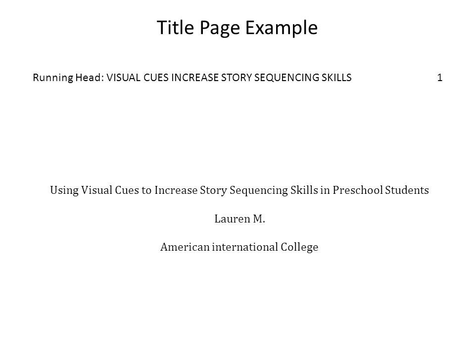 Writing Using APA Style Graduate Research Papers Based On Purdue