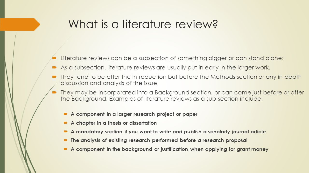 IR502 RESEARCH METHODS Literature Review What Is A Literature