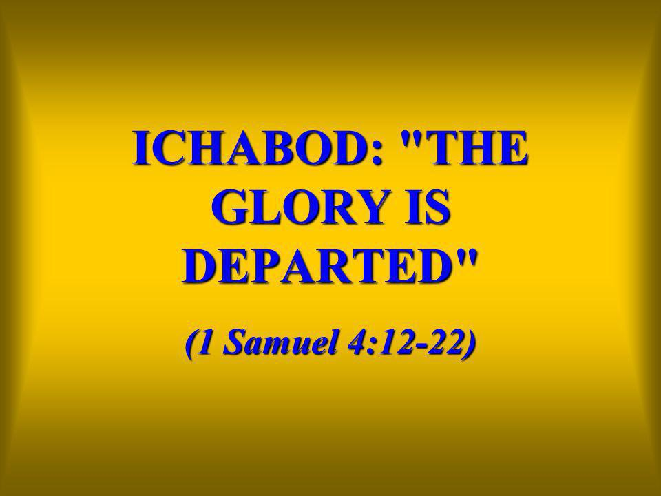 Image result for ichabod 1 samuel 4:12 images