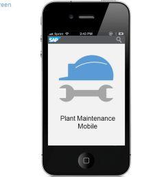 2 sap 2 shows splash screen plant maintenance mobile [ 1280 x 720 Pixel ]