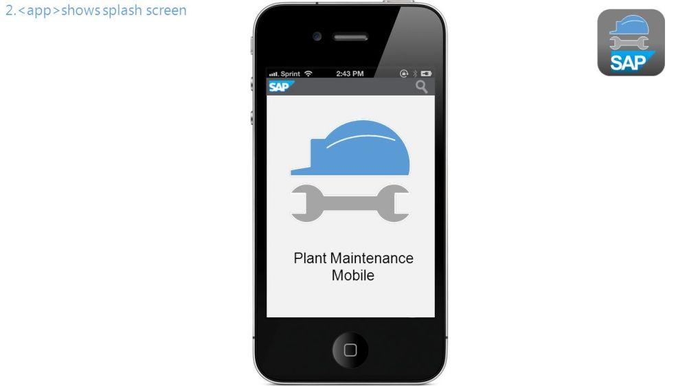 medium resolution of 2 sap 2 shows splash screen plant maintenance mobile