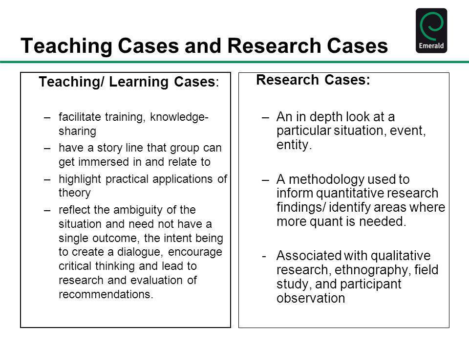 Case Study Paper Example