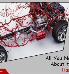 2 the wiring harness is considered as the central nervous system of the car for connecting a variety of components  [ 1280 x 720 Pixel ]